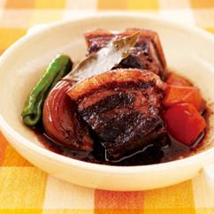 豚肉のワインビネガー煮