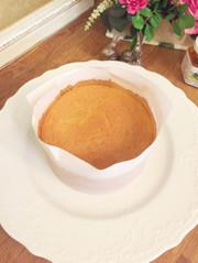 基本のスポンジケーキ(4号 12㎝)の写真