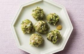 レンジで楽チン♪秋白菜の簡単シュウマイ