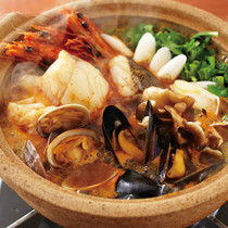 シーフードキムチ鍋