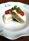 豆腐と冬瓜とささみのヘルシープディング
