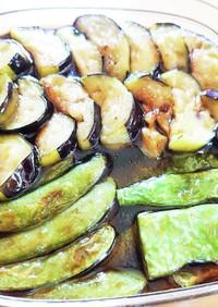 酸っぱい好き&食欲UPの夏野菜揚げ浸し