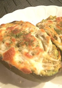 アボガド大好き!海老&ツナ入りチーズ焼き