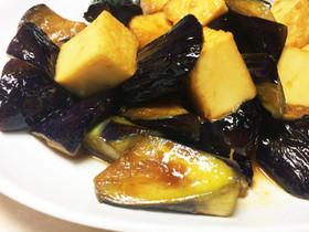 茄子と厚揚げの生姜焼き