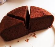 HMと炊飯器でふわふわ♪チョコケーキ♪の写真