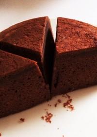 HMと炊飯器でふわふわ♪チョコケーキ♪