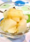 梨とピーナッツの甘酢和え★