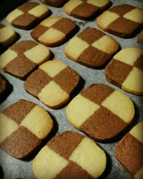 アイスボックスクッキー(市松模様)