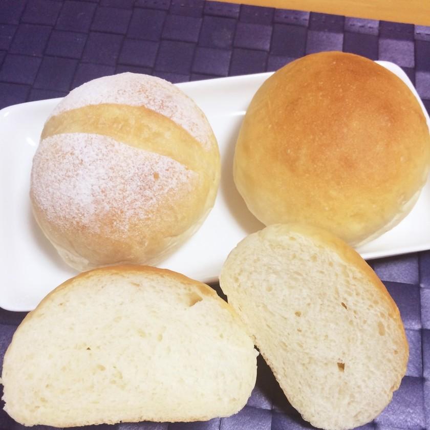 初心者でも簡単ふわもち☆基本の手ごねパン
