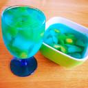 カキ氷シロップで簡単美味☆サイダーゼリー