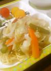 レモングラスの野菜あんかけ焼きそば♪