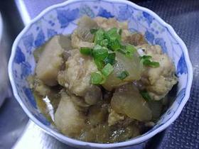 冬瓜と京芋の煮物(アレンジ編)