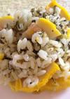 高菜と辛子蓮根の混ぜご飯