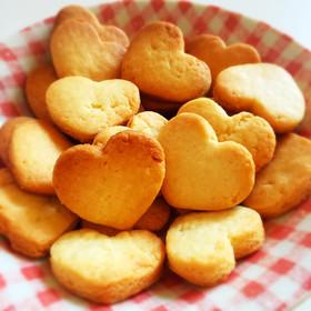 材料3つ!簡単美味しいさくさくクッキー♪