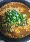 簡単!ピリ辛!坦々風春雨スープ