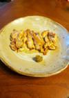 鶏モモの塩胡椒焼き☆柚子コショウ添え