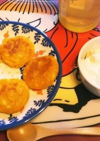 【離乳食後期】裏ごしかぼちゃでかぼちゃ餅