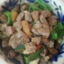 牛肉入りサラダ(血管ダイエット食878)