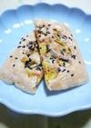 エコ✿ゴーヤのワタと種でチーズ煎餅✿