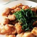 鶏ムネ肉のさっぱり梅ダレ焼き