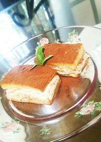 高野豆腐で簡単シュークリーム