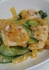 簡単美味しい!中華クラゲと鶏胸肉のサラダ