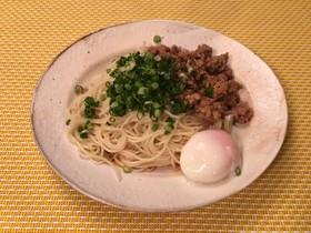 10分で!広島汁なし担々麺