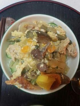 色々親子丼(血管ダイエット食879)