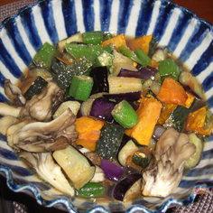 超簡単!夏野菜の揚げ浸し