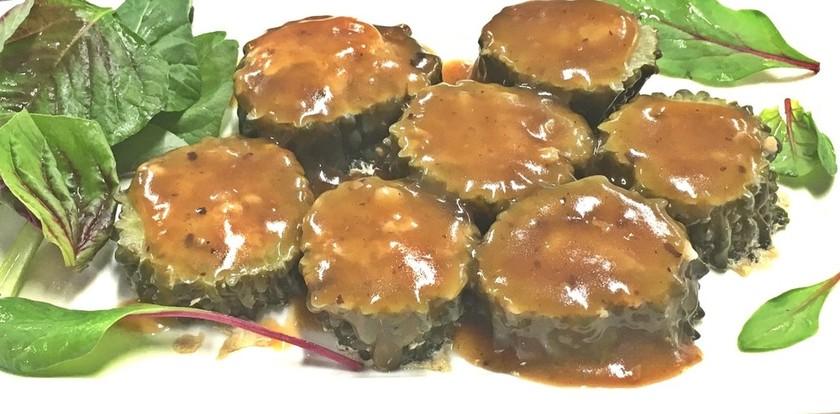 中華料理人のゴーヤの肉詰めが簡単に☆