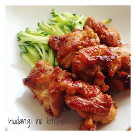 簡単!鶏もも肉のピリ辛めんつゆマヨ焼き