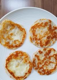 さけるチーズのパリパリお煎餅☆