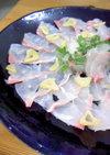 鯛の和風カルパッチョ*ガーリック風味♡
