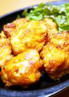 カレー味!鶏むね肉タンドリーチキン唐揚げ