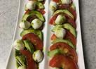 トマトとモッツァレラのサラダ  5分