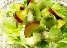目指せ美肌◇キウイとサツマイモのサラダ