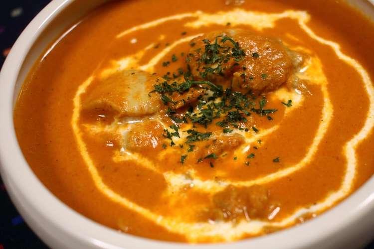チキン レシピ 人気 カレー バター