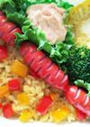 お弁当に♬赤ウインナー 飾り切り