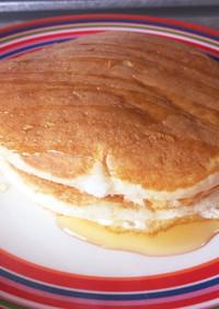 余った卵白でふんわりもっちりパンケーキ!