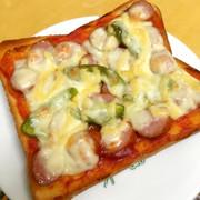 ○簡単!ピザトースト○の写真