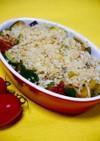 レンジで簡単!夏野菜のオーブン焼きもどき