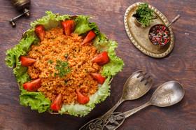 クスル トルコのヘルシー*ブルグルサラダ