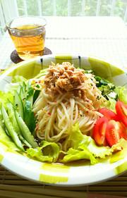 サラダ冷麦☆の写真