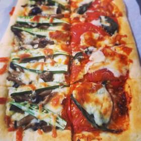 手作りピザソース!トマトソースピザ