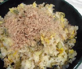 和風野沢菜ちゃーはん