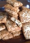 胡麻と胡麻油で作るセサミクッキー