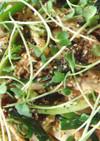蒸し鶏の冷菜キムチサラダ