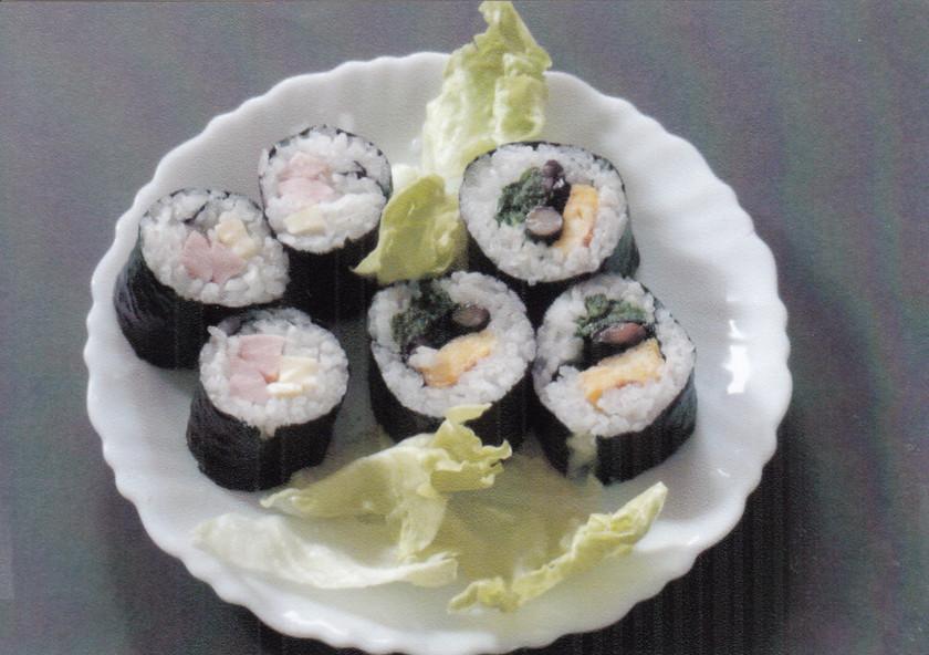 残りご飯を利用して「冷や飯の寿司」