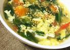 からだポカポカ!ニラ玉トマトスープ