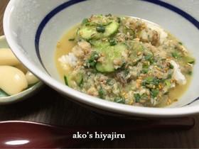 本格的な宮崎の冷汁・絶品ですよ!